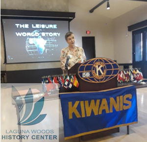 Catherine Brians Speaks at Kiwanis Club